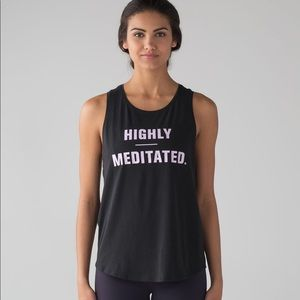 Lululemon Muscle Love Tank [Highly Meditated]